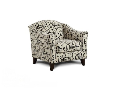 Fusion Raven Accent Chair 524048