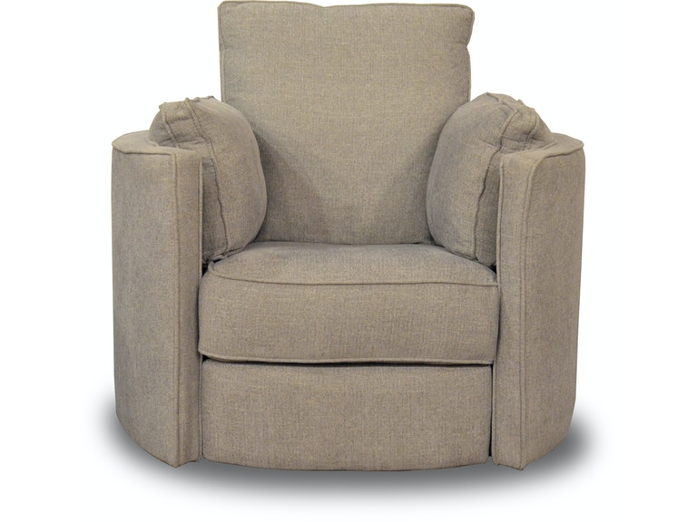 Klaussner Living Room Ryder II Swivel Recliner Kittles - Reclining swivel chair