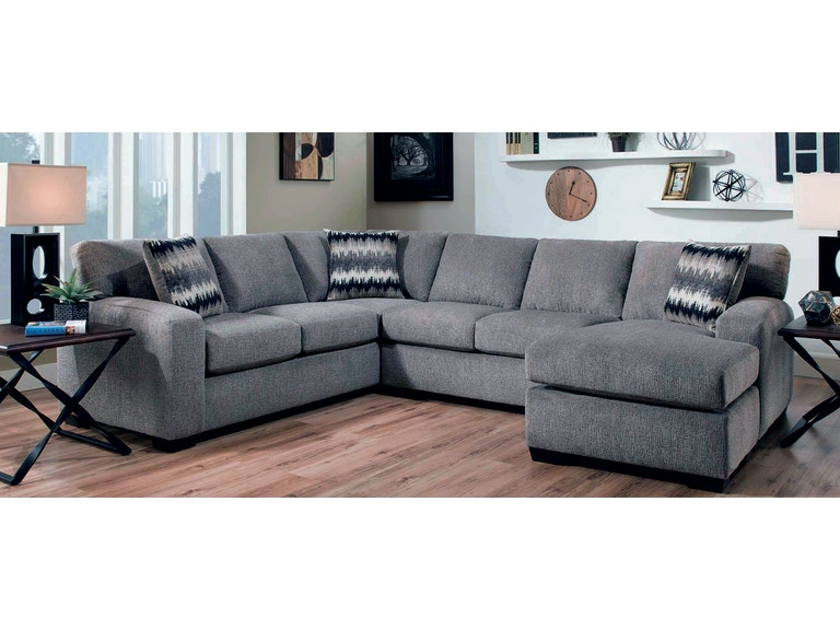 American Upholstery Mitchell 2 Piece Sectional G68627