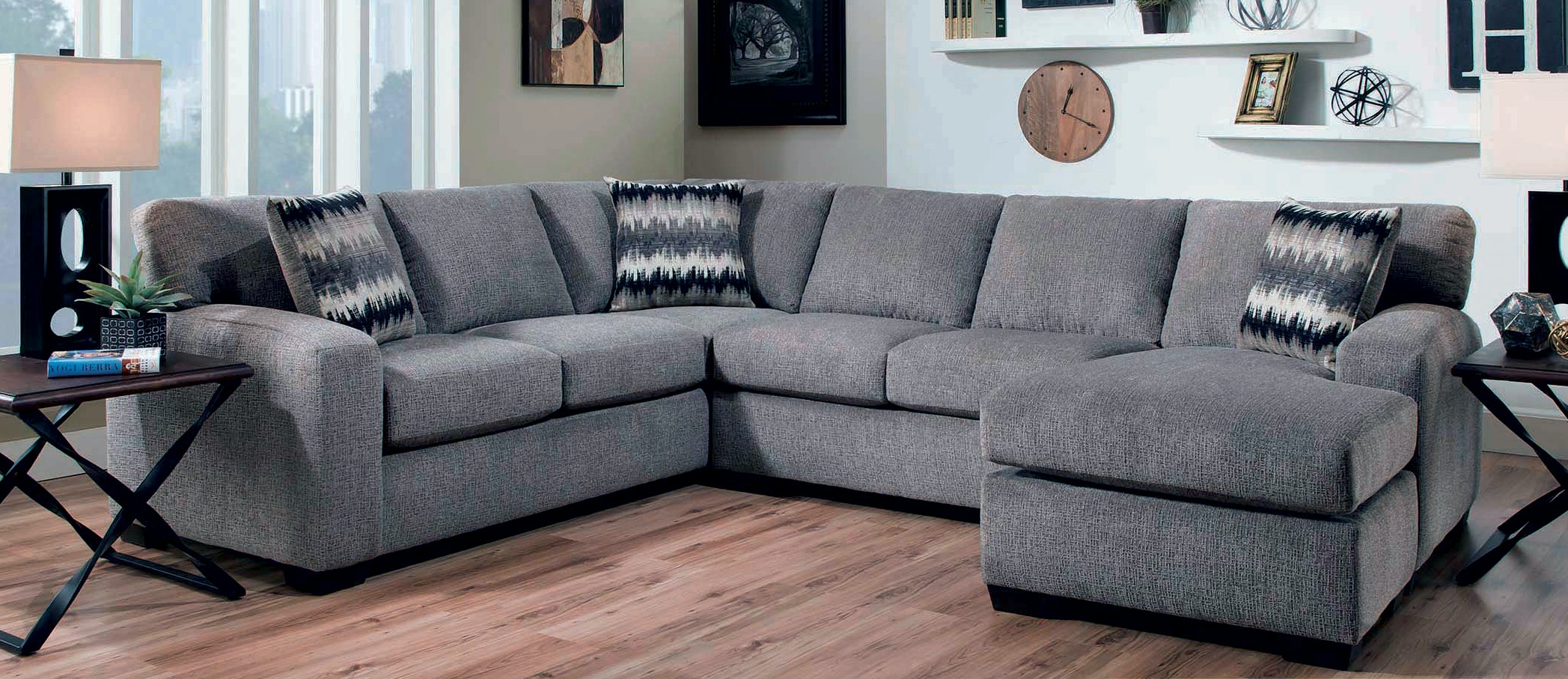 republic mitchell 2 piece sectional g68627