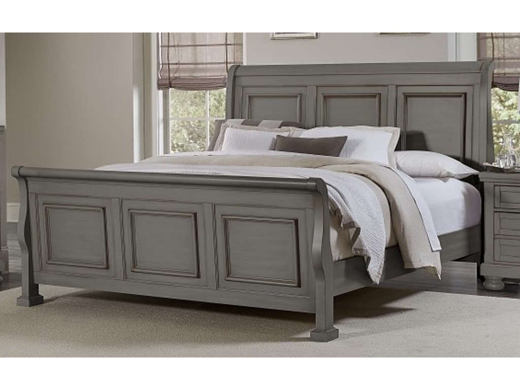 Vaughan Bassett Furniture Company Bedroom Antique Pewter