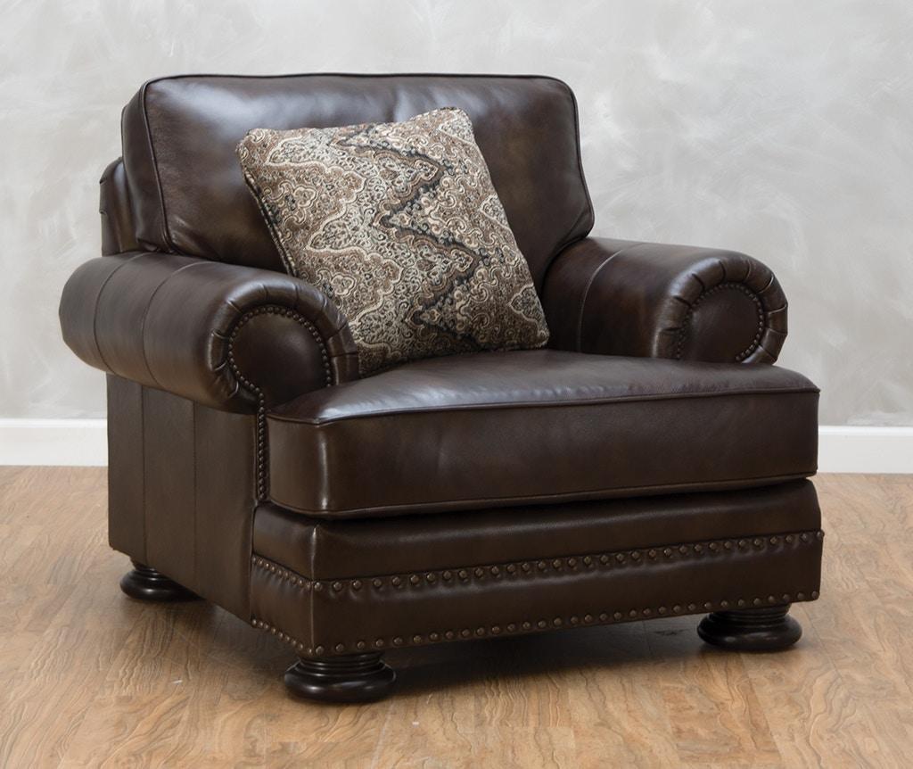 Bernhardt Foster Leather Chair 540522