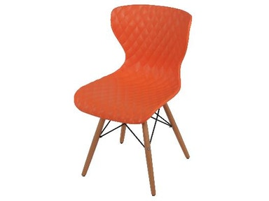 New Pacific Direct Camryn Orange Chair 528953