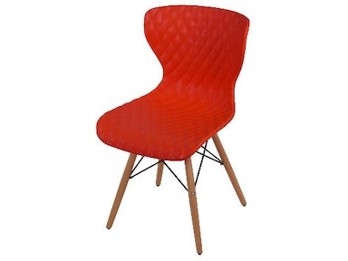 New Pacific Direct Camryn Red Chair 528952