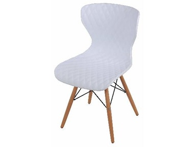 New Pacific Direct Camryn White Chair 528955