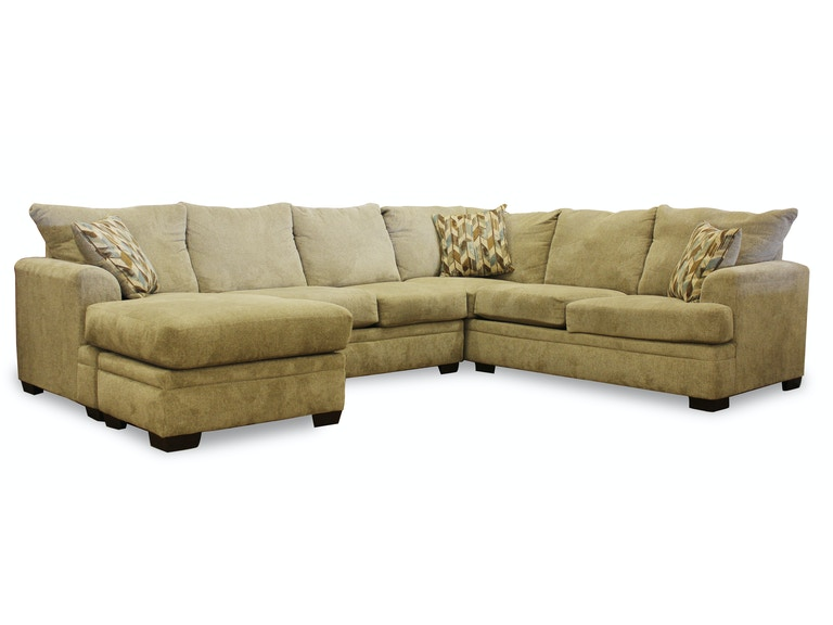 American Upholstery Jazz 2 Pc Sectional G64994
