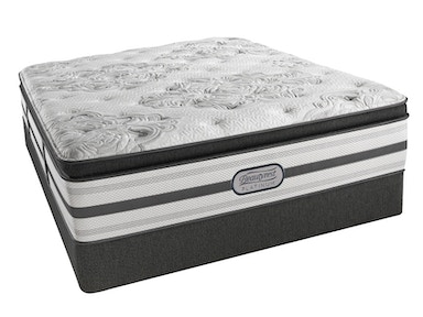 Simmons Beautyrest® Platinum Emily, Plush Pillowtop Queen Mattress Set G68286-G