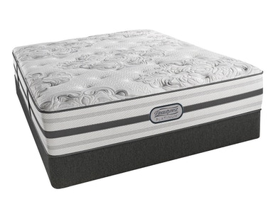 Simmons Beautyrest® Platinum Dakota, Firm Queen Split Box Mattress Set G68240-I
