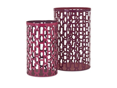 Imax Irresistible Set of 2 Lanterns 518842