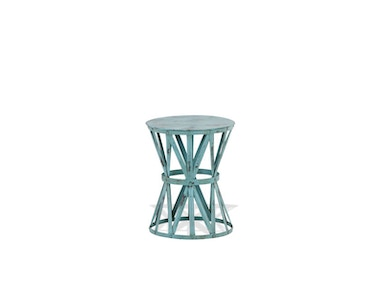 Foreside Accent Table in Seafoam 491602