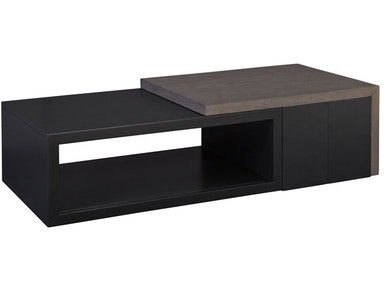 Casana Kaplan Cocktail Table with Boxes 532799