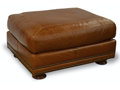 Usa Premium Leather Living Room Brady Ottoman 517219 Kittle 39 S Furniture Indiana