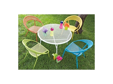 Woodard Furniture Spright 5 Piece Patio for Kids 531938