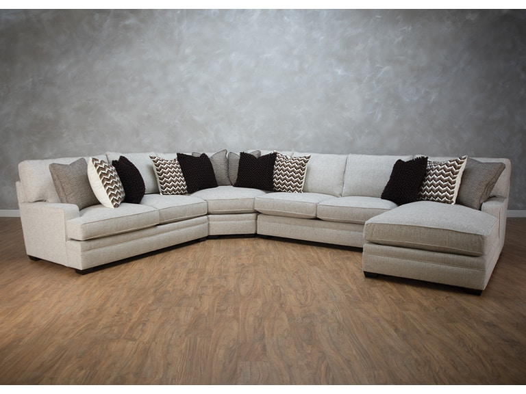 Bernhardt Living Room Furniture. Bernhardt Karsten 4pc Sectional G72099 Living Room  Kittle s