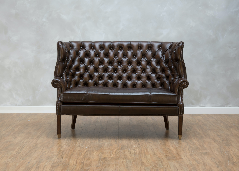 Rachlin Classics Bates Leather Settee 548501