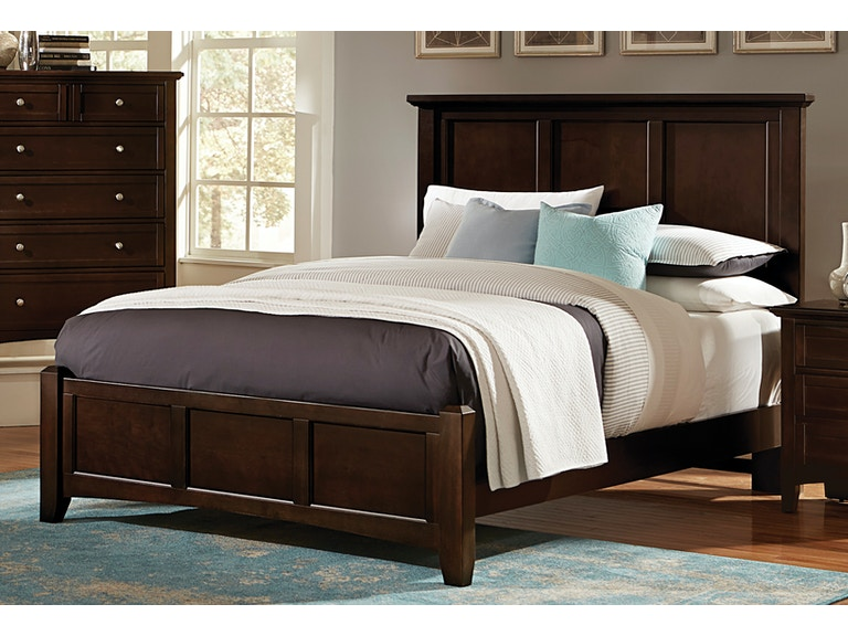 Vaughan-Bassett Furniture Company Bedroom Bonanza King Panel Bed ...