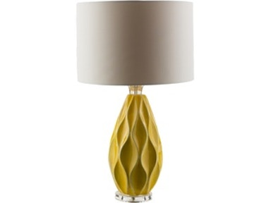 Surya Rugs Bethany Mustard Table Lamp 534239