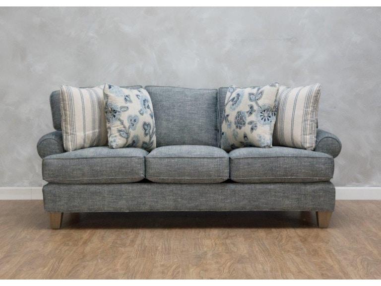 Craftmaster Living Room Gentry Shallow Sofa 555172 - Kittle\'s ...