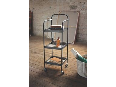 Kalalou Metal Serving Cart 498637