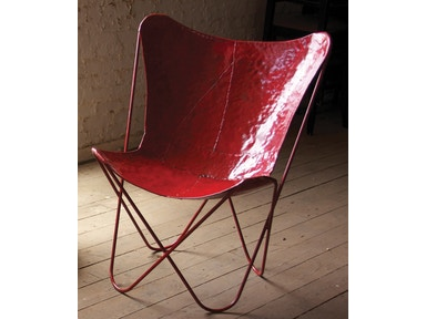 Kalalou Red Butterfly Chair 483558
