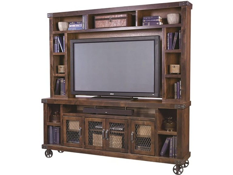 "aspenhome Industrial 84"" Console and Hutch G65664"