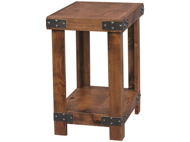 aspenhome Industrial Chairside Table 524965