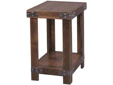 aspenhome Industrial Chairside Table 524955