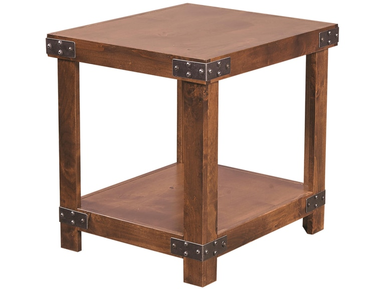 aspenhome Industrial End Table 524966