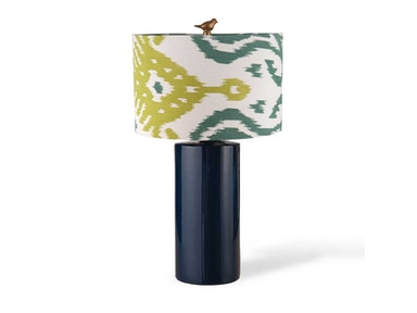 Foreside Navy Table Lamp 534008