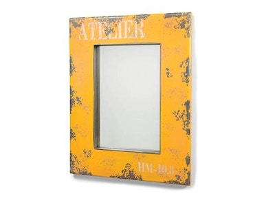 Moes Home Collection Yellow Mirror 482645
