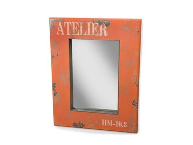 Moes Home Collection Orange Mirror 482646