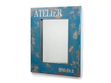 Moes Home Collection Blue Mirror 482647