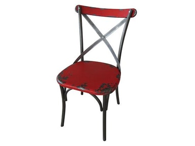 Moes Home Collection Red Bali Chair 482641
