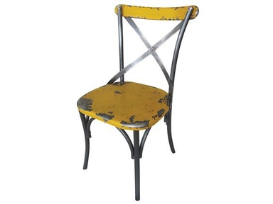 Moes Home Collection Yellow Bali Chair 482642