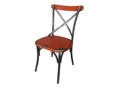 Moes Home Collection Orange Bali Chair 482643