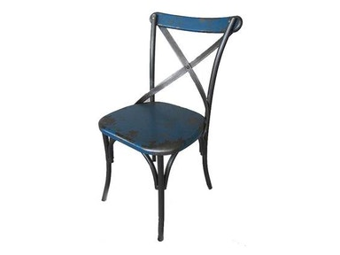 Moes Home Collection Blue Bali Chair 482644