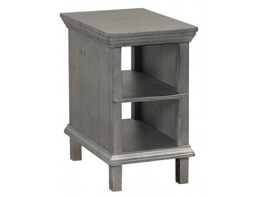 aspenhome Preferences Chairside Table - Metallic 539977