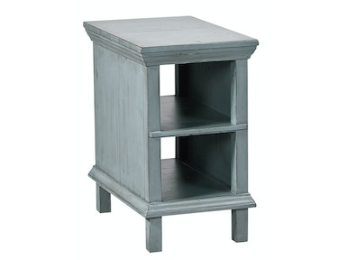 aspenhome Preferences Chairside Table - Slate Blue 539978