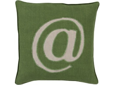 "Surya Rugs Forest @ Symbol 18""X18"" Pillow 530441"