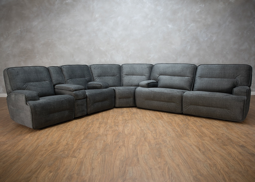 Easy Living Motion Living Room Jesse 3 Piece Reclining Sectional