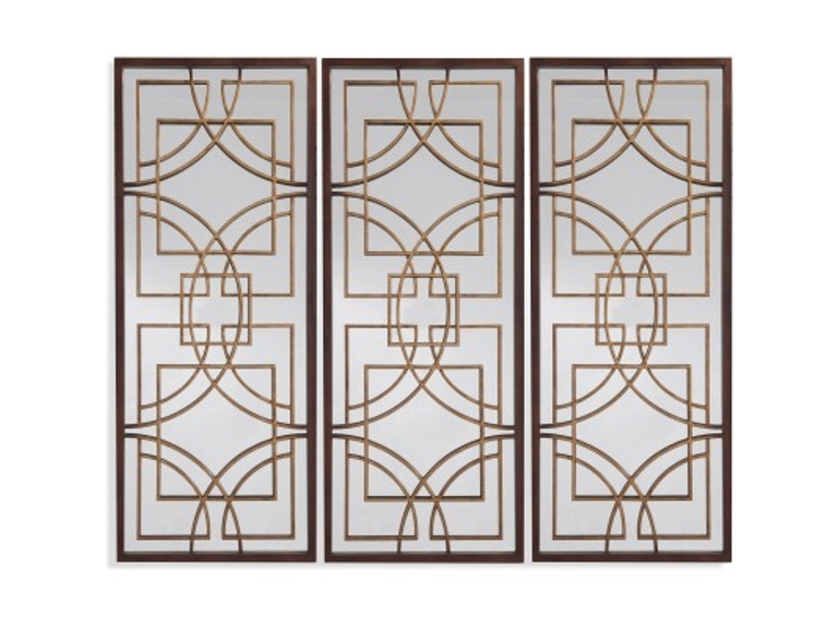 Bassett Mirror Co. Osburn Single Wall Mirror Panel 524212