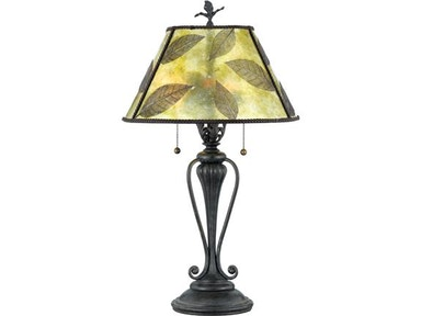 Quoizel Mica Leaf Table Lamp 525825