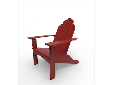 Malibu Outdoor Living Yarmouth Adirondack Chair Red 531827