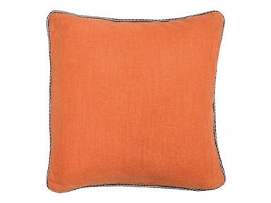 "Classic Home Roche Orange Pillow 22"" x 22"" 515543"