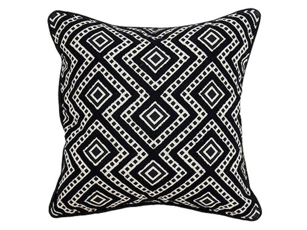Classic Home Accessories Incense Black Pillow 18 X 18
