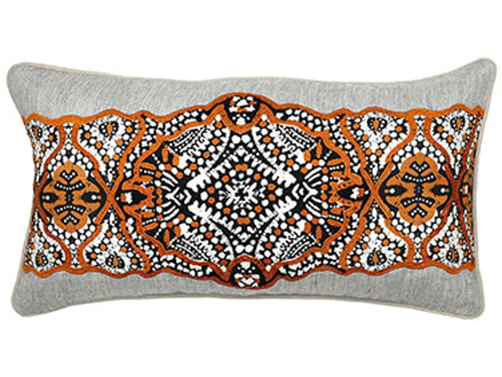 Classic Home Accessories Armory Sienna Brown Pillow 14 X