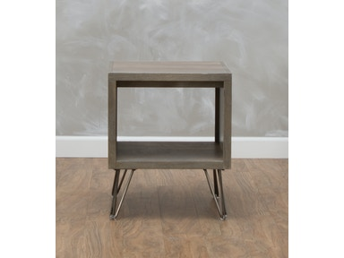 aspenhome Studio Driftwood End Table 547367