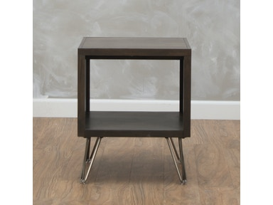 aspenhome Studio Chocolate End Table 547366