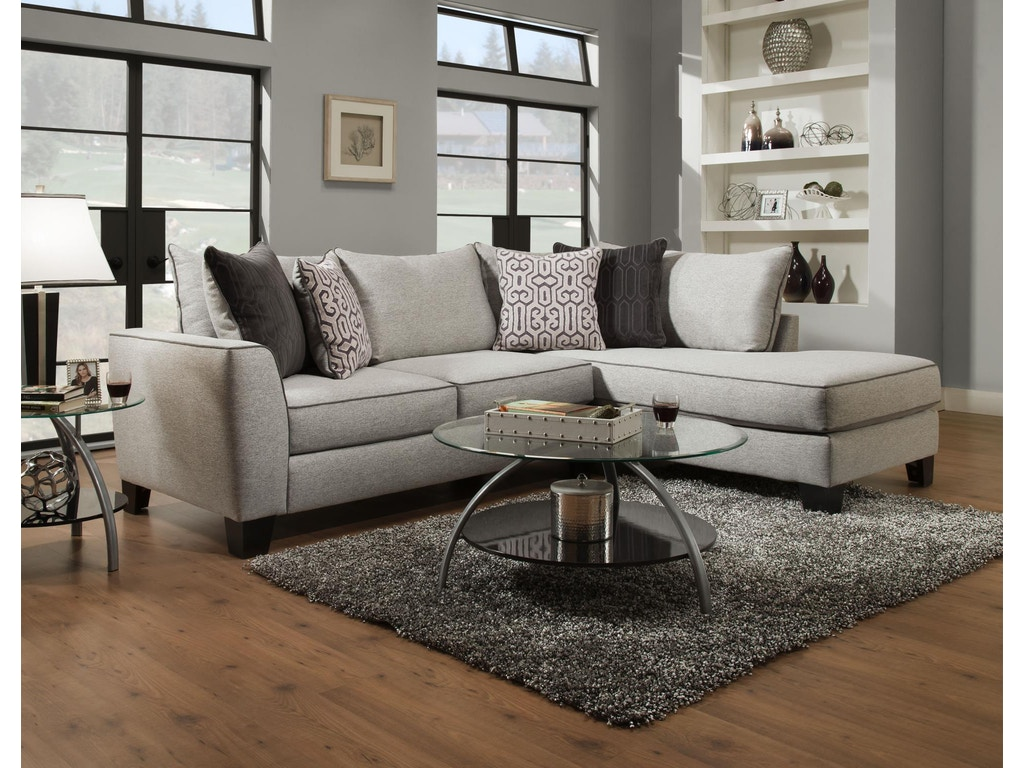 Albany trounce sectional 0374 sect gustafson 39 s furniture for Albany saturn sectional sofa chaise