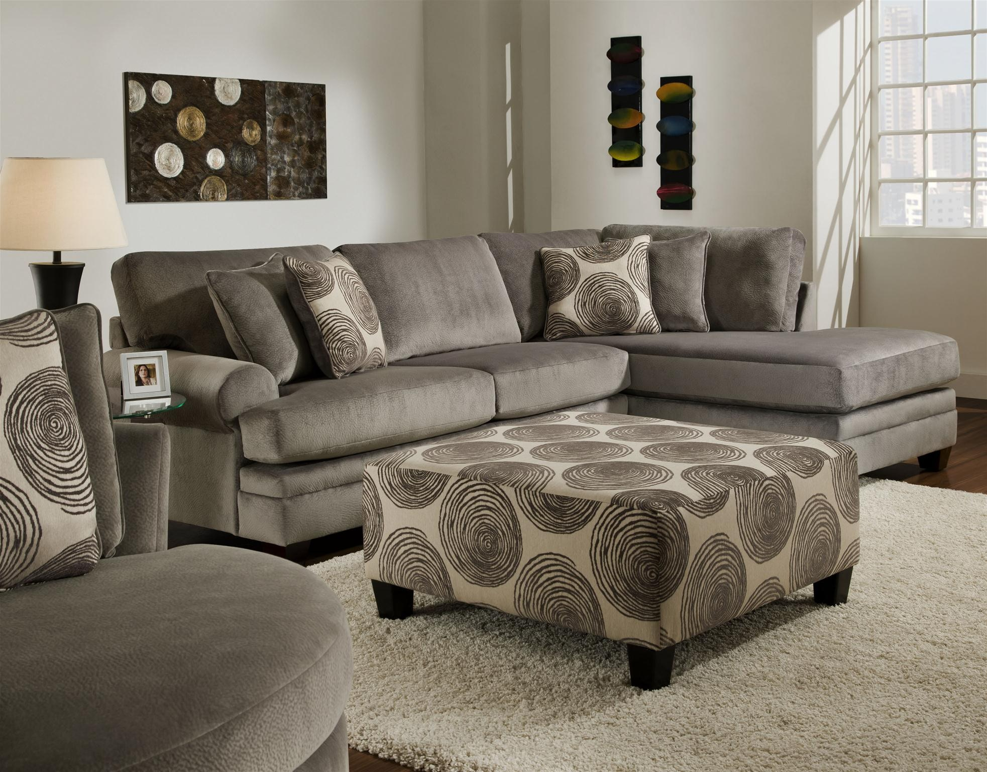 Captivating Albany Groovy Smoke 2PC Sectional 6309940 2PC At Gustafsonu0027s Furniture And  Mattress